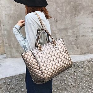 🔄🆕 MARSEILLE Quilted Large Tote